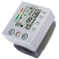 צג לחץ דם יד דיגיטלית מסך LCD צג דופק לב מכשיר כיבוי אוטומטי צריכת חשמל נמוכה חם חדש