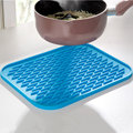 Small Silicone Pot Holder Heat Resistant Pot Mat Silicone Trivets Pat Coaster Placemat