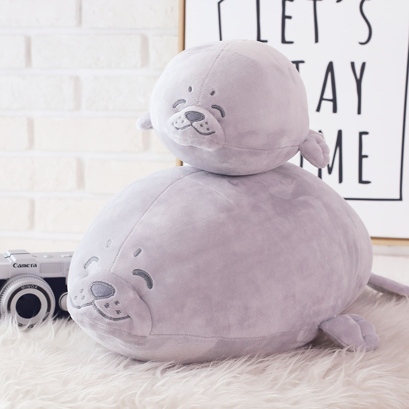 Fat Kawaii Sea Lions Seals Plush Toys Soft Stuffed Toys