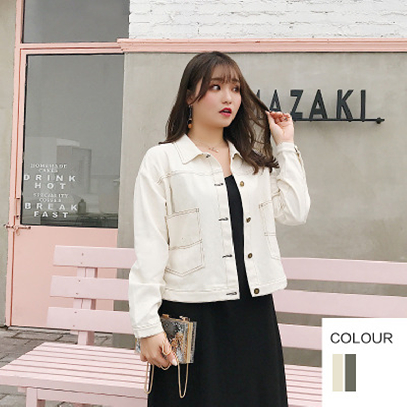 2019 Spring Fashion New Fat mm Large Size Women