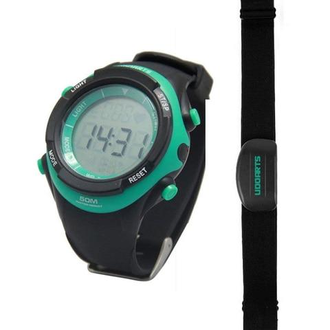 Monitor de Freqüência Udoarts com Cinta Baterias e Chave de Fenda Pacote de 5 Cardíaca Peito Natureza Preta – Verde no 2