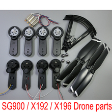 X192 X196 SG 900 SG900-S RC Drone Fold Wing Arm Motor Engine Metal Gears Propeller Cover LED Axis Ac