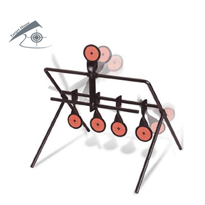 Airgun 5-Plate Reset Target /Also For Airsoft Paintball Shooting/Improving Hunting Shooting Tactical Skill/Outdoor&Indoor