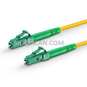 Image 2 - Optical Fiber Patchcord 10pcs 1m to 5m LC APC to LC APC Fiber Optic Patch Cord Simplex 2.0mm G657A PVC Single Mode Jumper Cable