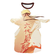 2019 new fashion Naruto T-shirt design , Sasuke, and other anime series size role-playing clothing S-5XL