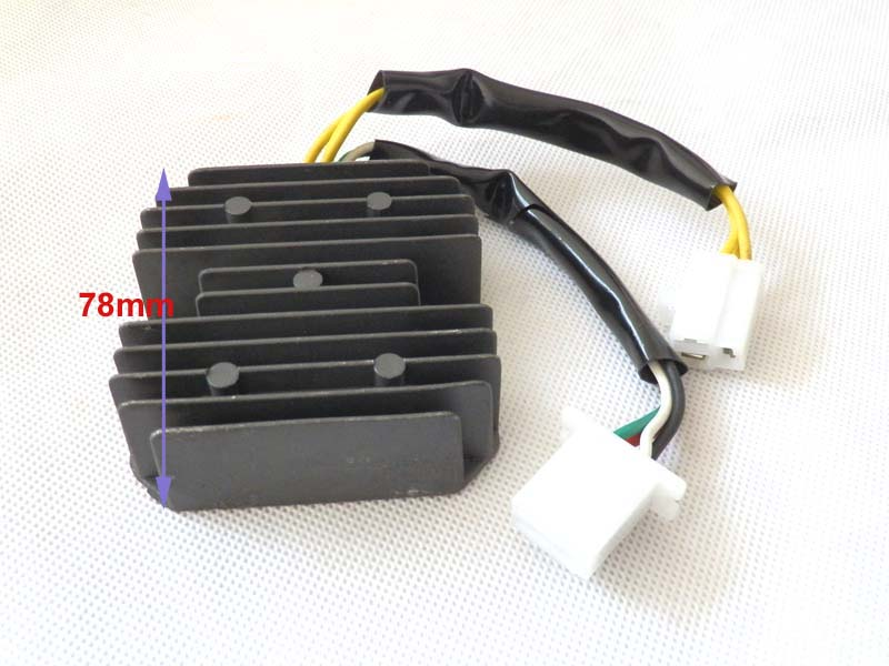 3 Wires+4 Wires Voltage Regulator Rectifier 7 Pins Wires