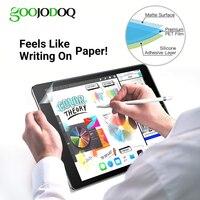 Paperlike fosco Suave Protetor de Tela para o iPad 2018 9.7 Pro 3 11 2020 Ar 10.5 2019 iPad 10.2 Ar Filme iPad Mini 5 4 3 2 1 1 2|Protetores de tela p/ tablet|Computador e Escritório -