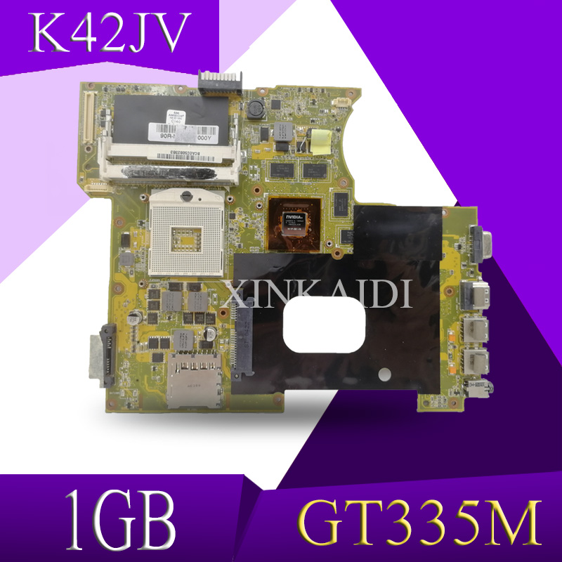 Mainboard Asus A42j X42J K42JR Laptop for 60-nznmb1100-b14/Tested/Working GT335M 1GB