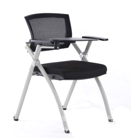 Fashion new training chair with writing board foldable meeting chair staff office computer chair household leisure chair
