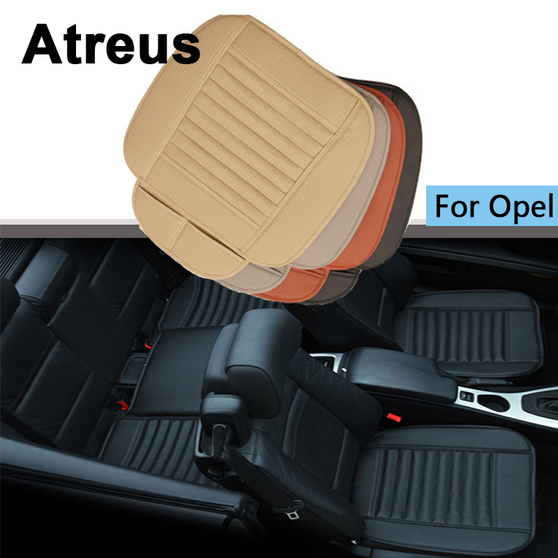 Atreus Car Styling Four Seasons Leather Cushions on rear/ front back seat Covers ForOpel Astra H J G Insignia Mokka Accessories