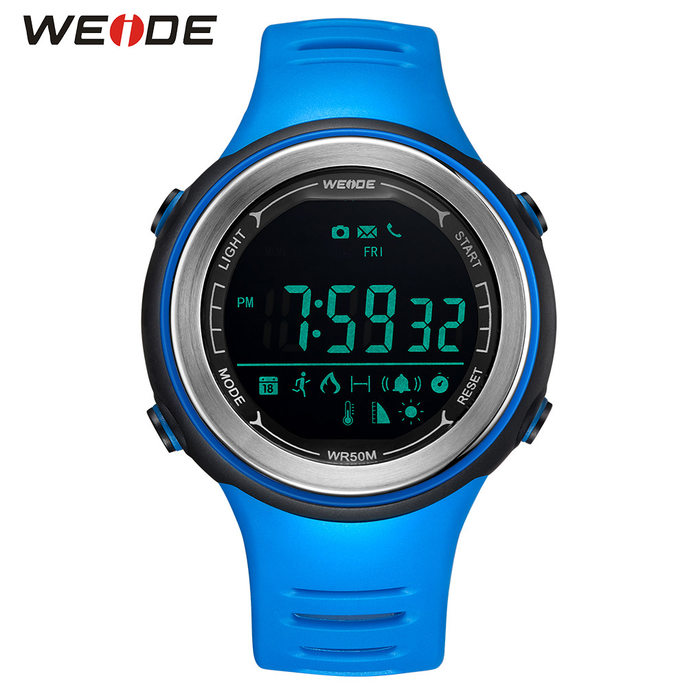 WEIDE Bluetooth Sports Watch Hombre Digital Waterproof Android Phone Call Relogio Sport Smart watch men waterproof android 2018 все цены