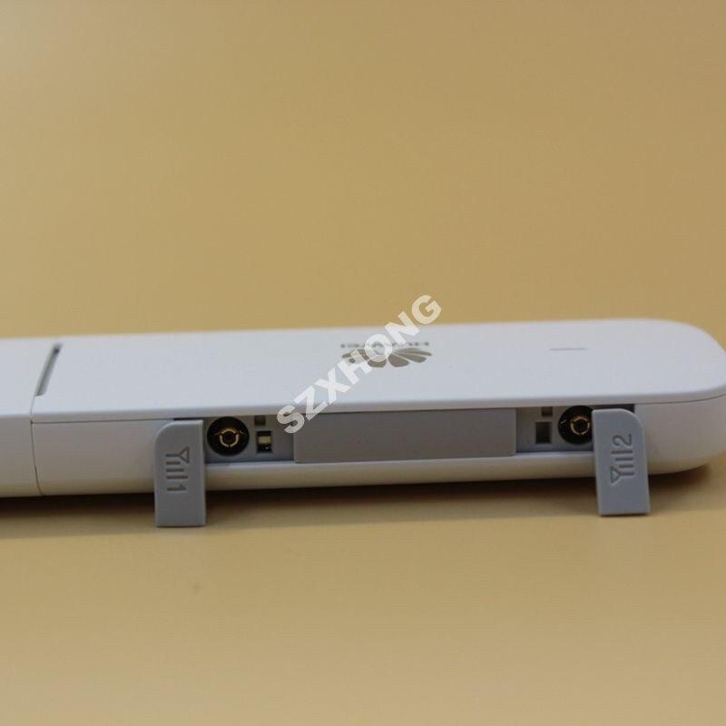 Débloqué Huawei 4G Modem USB E3372 E3372h-607 (plus une paire d'antenne) 4G LTE Modem 4G LTE USB Dongle 4G Modem USB carte SIM - 6