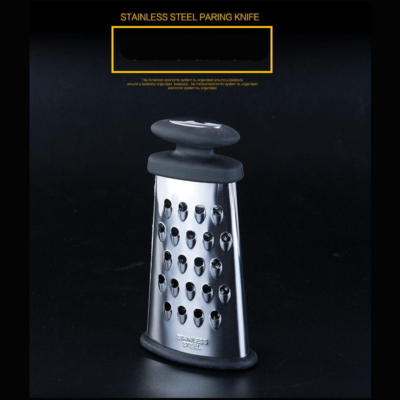 6 inch High Quality Stainless Steel 4 Sides Fruit Graters Vegetable And Fruit Tools Kitchen Surplies Free Shippin