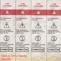 O Envio gratuito de 50 pçs/lote 600D-G Esterilizado Descartável Tattoo & Maquiagem Permanente Rotary Tattoo Machine Needles 3RL