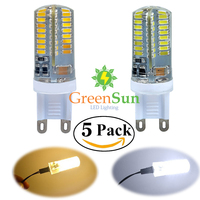 G9 3W Corn LED 3014 64 SMD Cool Warm White Replacement Halogen Lamps Bulb Decorative COB