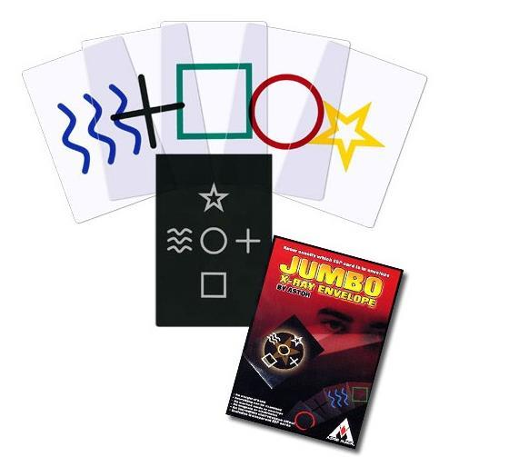 Envío libre Jumbo X-ray Sobre Mentalismo Trucos de Magia, ilusiones, Accesorios, etapa apoyos mágicos, cerca de up, comedia
