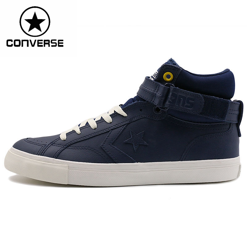 цена на Original New Arrival  Converse Star Player  pro blsxr plud Unisex Skateboarding Shoes leather Sneakers