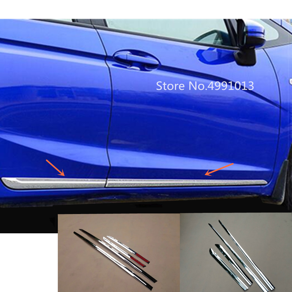Car Door Body Molding Strip Streamer Cover Trim For Jeep Renegade 2015-2019