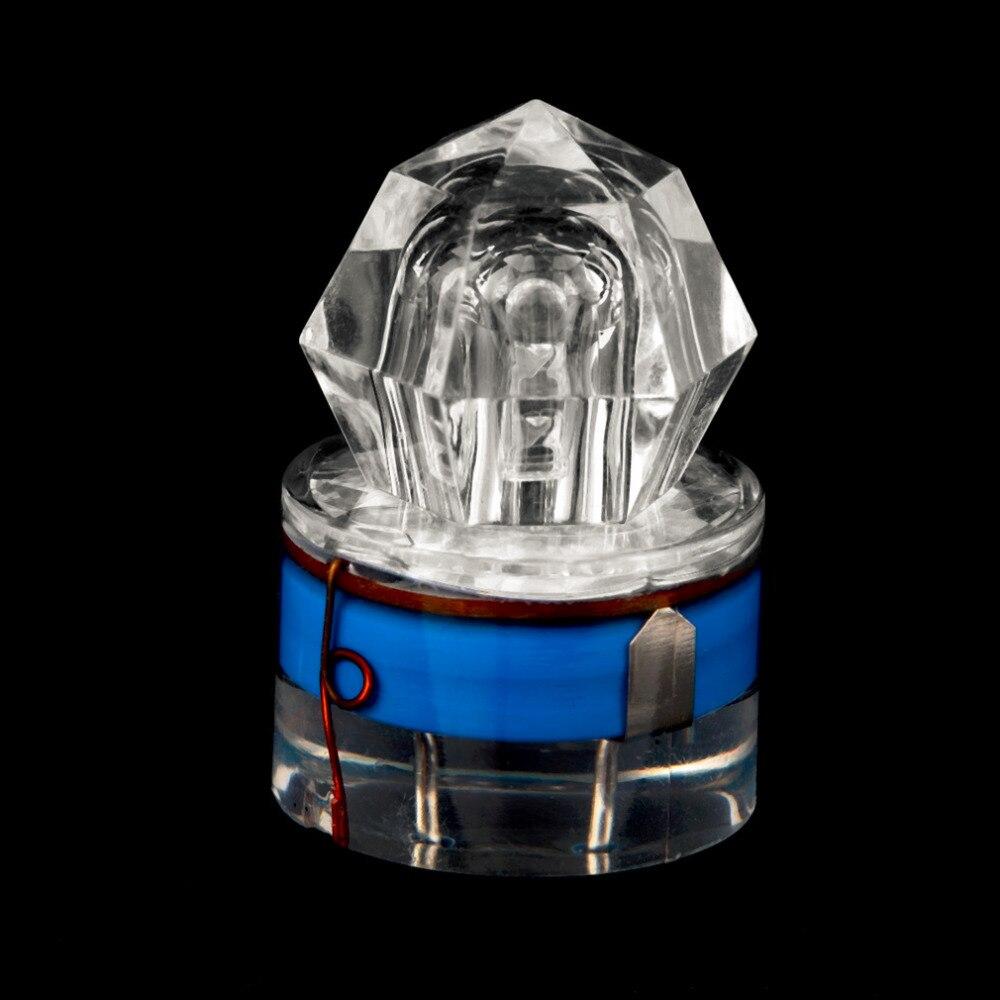 LED Deep Drop Underwater Fishing Fish Squid Bait Lure Light Flashing Lamp New FM