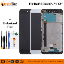 цена на For Xiaomi Redmi Note 5A LCD Display Touch Screen Digitizer Assembly Replacement For xiaomi Note 5A Standard Version 2GB 16GB