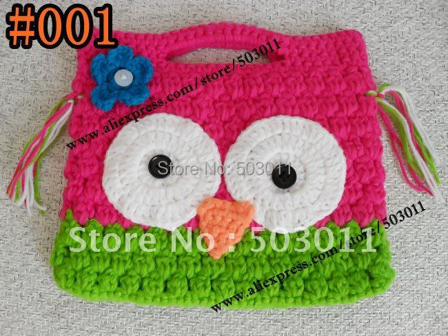 2 Pcssoooo Cute Crochet Owl Pursehandmade Knitted Wallet Kids