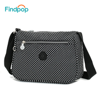 Findpop Casual Crossbody Bags For Women 2018 New Waterproof Small Messenger Bags Fashion Canvas Floral Printing