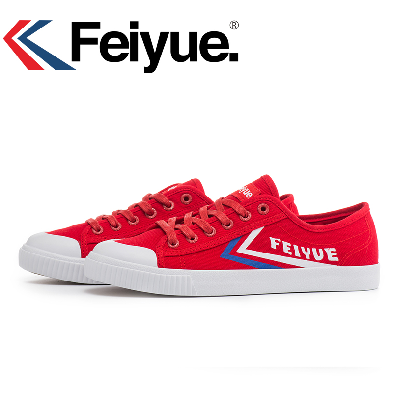 Feiyue Shoes Keyconcept Qingtang Style Feiyue Blue Gray Shoes  Kungfu Red Shoes
