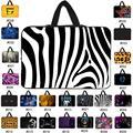 Мода 7 10 12 13 14 15 17 дюймов рукава случаях нести сумки для ноутбука таблетки ноутбук обложка 13.3 15.6 11.6 мешок компьютера нетбук