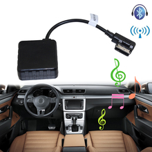 Lonleap Car Bluetooth Module for Audi Volkswagen Skoda Radio Stereo Aux Cable Adapter with Filter Wireless Audio Input biurlink wireless bluetooth module aux in audio mp3 music adapter 12pin connector for vw for skoda