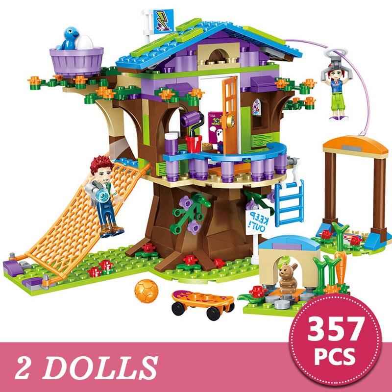 Regalo Para Aventura Legoings Construcción 357 Con Emma Compatible Árbol Mia Figura Piezas Niños Juguete Amigos Campamento Casa Ladrillos pVSUzM
