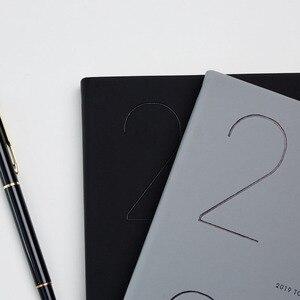 Image 4 - Agenda 2019 2020 Pianificatore Organizzatore A5 Diario di Notebook e Riviste Mensili Settimanale Nota Libro Pad Ufficio Programma di Viaggio A Mano libri