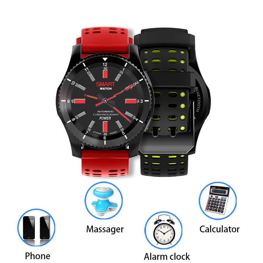 Bluetooth Smart Watch Military Watch Blood Pressure Heart Rate Monitor Wristwatch support SIM Card Alarm UV WhatsApp Reminder jaysdarel heart rate blood pressure monitor smart watch no 1 gs8 sim card sms call bluetooth smart wristwatch for android ios