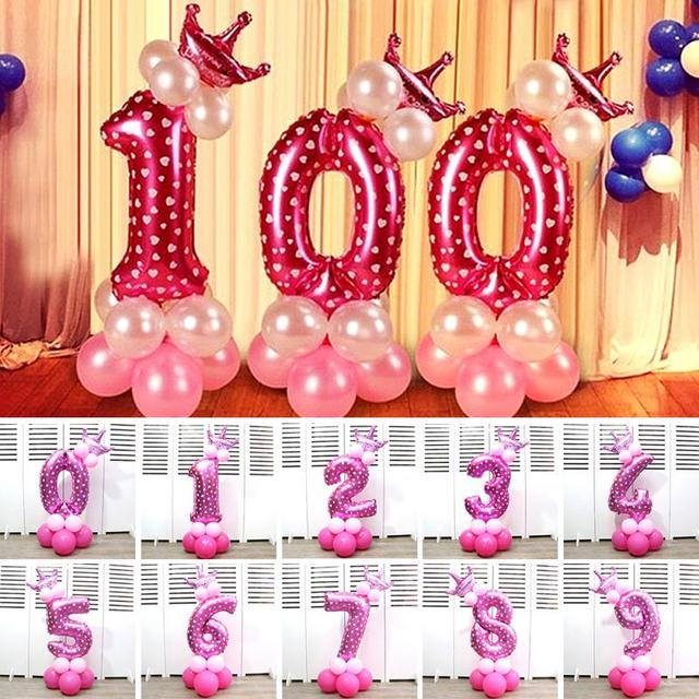 32 0 9 home decor number balloons set kids birthday party 32 0 9 home decor number balloons set kids birthday party decoration guide junglespirit Choice Image
