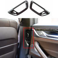 car accessories Rear Side Air Outlet Cover Trim For BMW 5 Series G30 G31 2017 2018