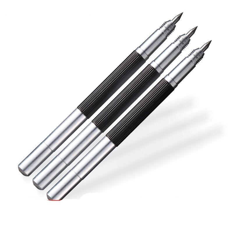 Tungsten Steel Glass Cutter Carbide Scriber Hard Metal Tile Cutting Machine Lettering Pen Engraver Glass Knife Scriber Tile Tool