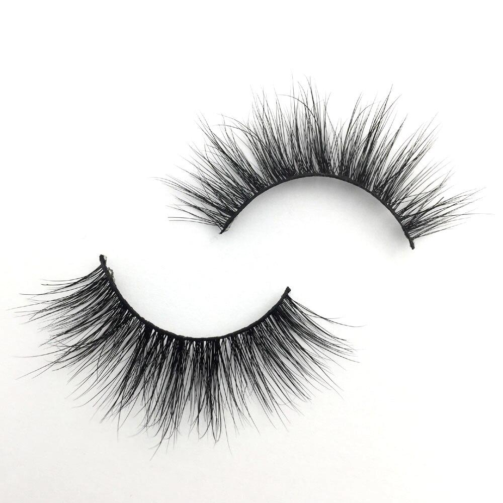 6fc54ae13e2 MKIWI Mink LashesD318 3D Mink Eyelashes 100% Cruelty free Lashes Handmade  Reusable Natural False Lashes