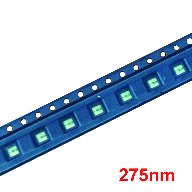 UV LED Diode 275nm UVC LED SMD 3535 270nm 285nm Chip Ultra Violet light beads UV led diode deep uv for lamp st luce светильник настенно потолочный st luce ovale sl546 501 01