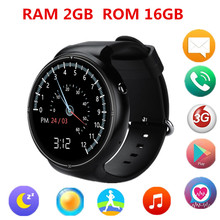 2017 Android Watch I4 Smart Watch Android 5.1 1.4 Round Screen RAM 16GB ROM Display Support 3G WiFi GPS Bluetooth Clock Phone