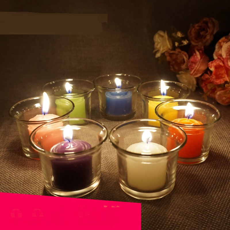 Creative Scented Birthday Weddings Candles Colorful Love Flameless Candles Cake For Chil ...