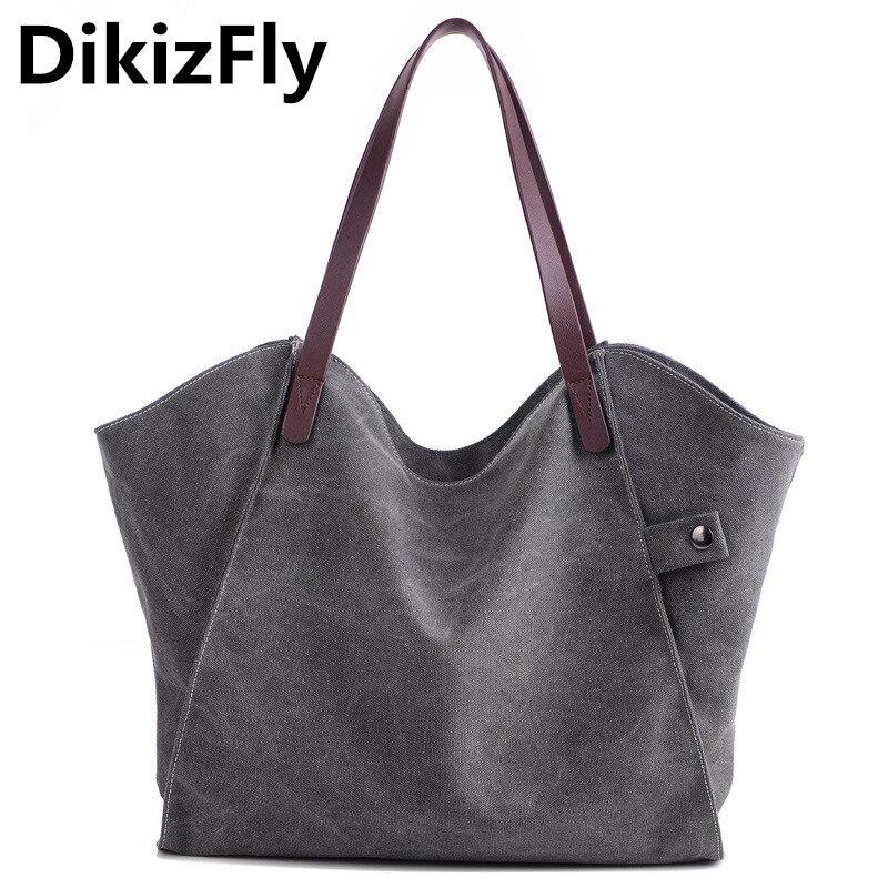Canvas Bags Shopping Bags Big Totes Handbags Hobos Large Shoulder Bag Ladies Handbag Bag