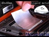 Liquid Metal Heat Sink Notebook Notebook Computer CPU Thermal Pad 40 40