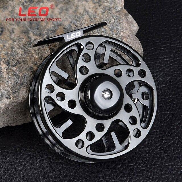 Aluminium Fly Fishing Reel 3/4 5/6 7/8 WT High Quality Left & Right Hand Changed Fishing Wheel CNC Large Arbor Fishing Reel Fly