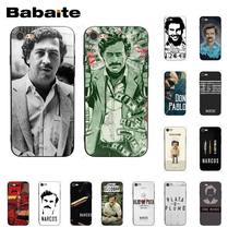 Babaite Narcos TV series Pablo escobar Novelty Fundas Phone Case Cover for iPhone 8 7 6 6S Plus X XS MAX 5 5S SE XR 10 Cover(China)