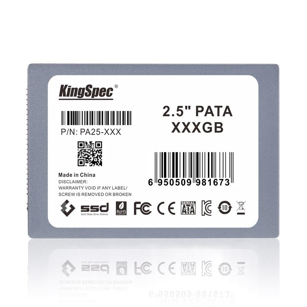 """Prix pour PA25-128 128 KingSpec 2.5 """"IDE PATA SSD SOLID STATE DRIVE Disque 44 BROCHES pour ordinateur En Gros, livraison gratuite"""