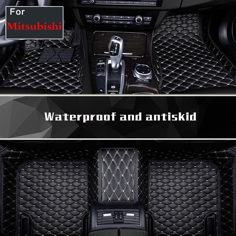 Tapis de pied de voiture chaude protéger intérieur tapis de voiture tapis de sol pour Mitsubishi Phev