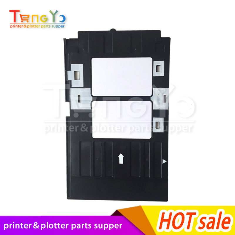 Office Electronics Printer Parts Ink Way 25pcs Pvc Id Card Tray For R260 R265 R270 R280 R290 R380 R390 Rx680 T50 T60 A50 P50 L800 L801 R330
