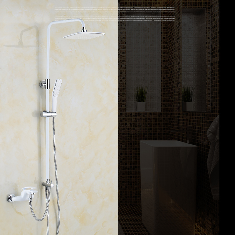 Aliexpress.com : Buy Luxury Red Shower Faucet Set Height Adjustable ...