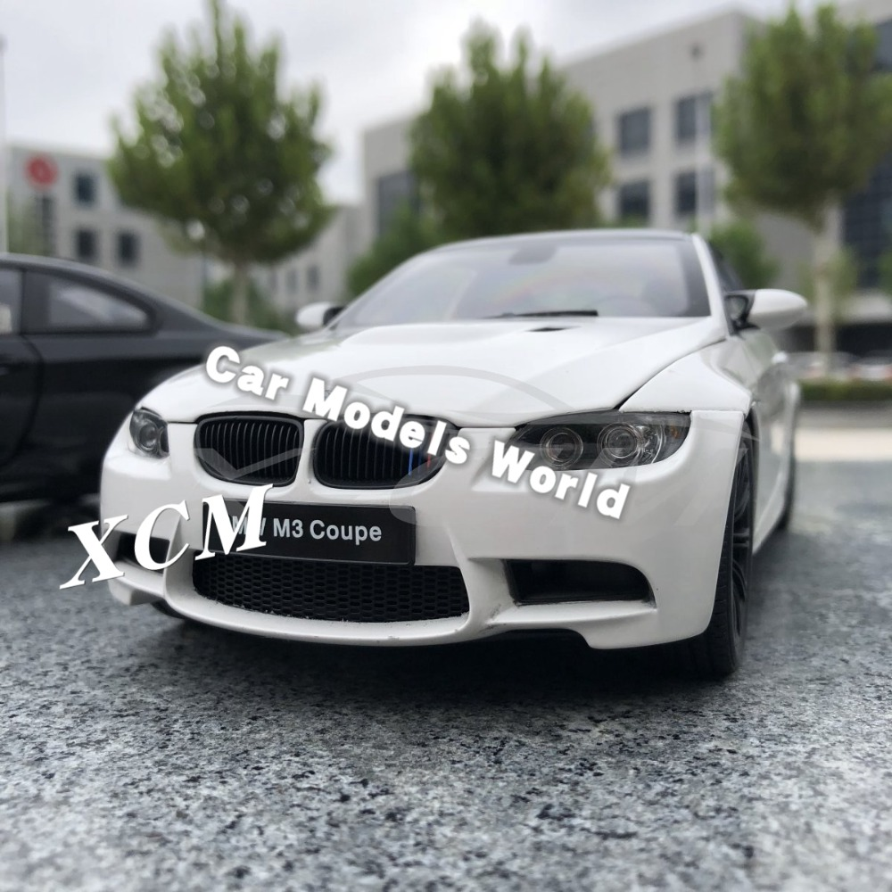 Diecast Car Model for Kyosho M3 Coupe E92 1 18 Alpine White SMALL GIFT