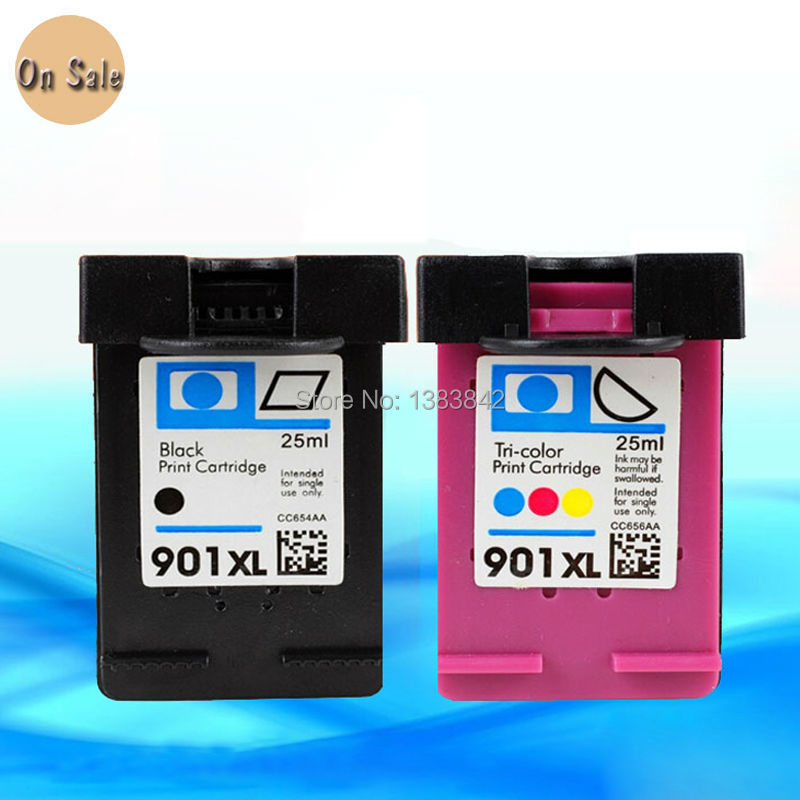 hisaint For HP 901 Ink Cartridges For HP 901 xl For hp901 Officejet - Office Electronics - Photo 1