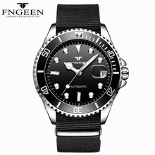 Luxury Brand FNGEEN Classic Water Ghost Series Men's Automatic Mechanical Calend